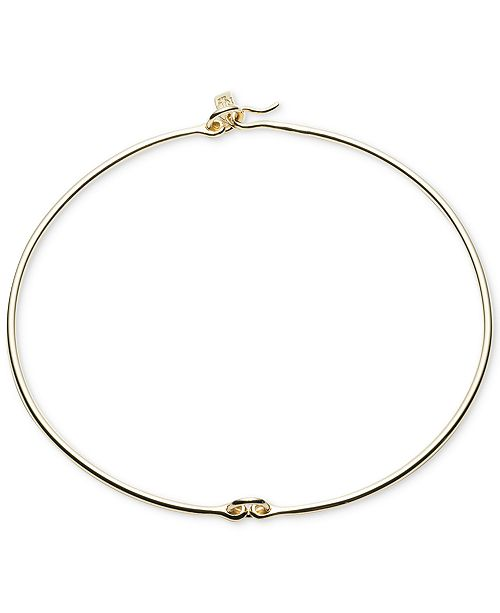 Ralph Lauren Gold-Tone Linked Hard Collar Necklace