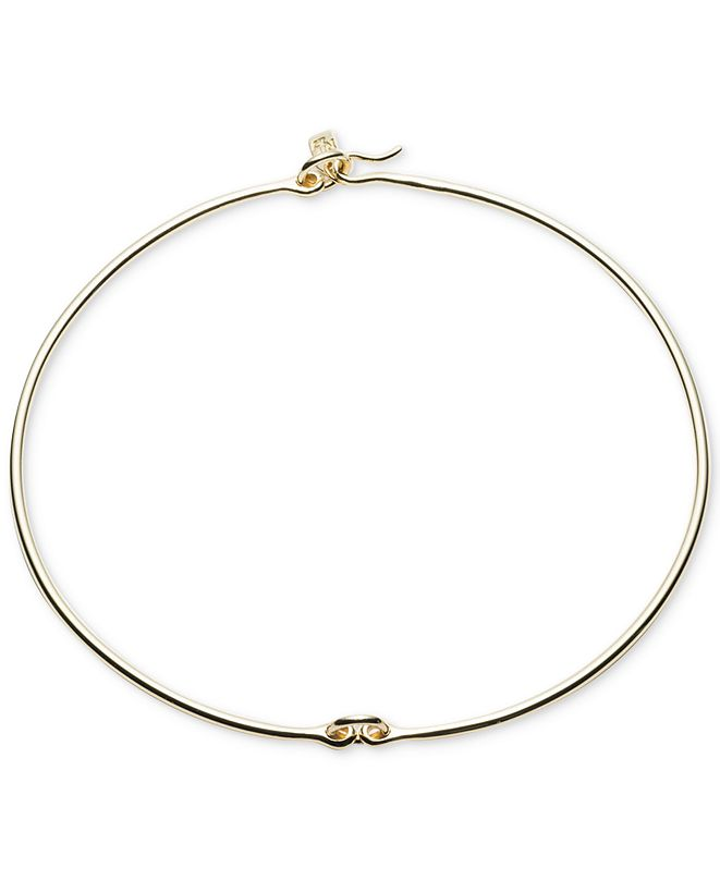 Ralph Lauren Gold-Tone Linked Hard Collar Necklace