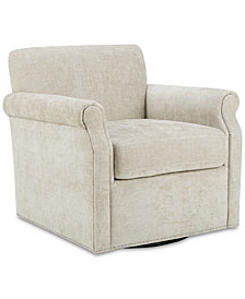 Anna Swivel Chair, Quick Ship