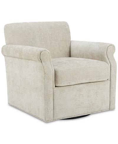 Aldrich Swivel Chair, Quick Ship