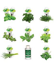 Gourmet Herb 9-Pod Refill Kit