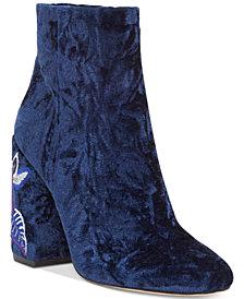 Jessica Simpson Wazlin Block-Heel Booties
