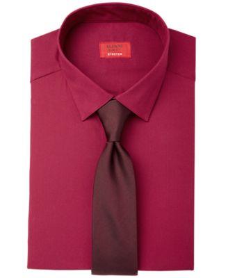 Alfani Slim Fit   Stretch Men's Dress Shirt, Created for Macy's ...