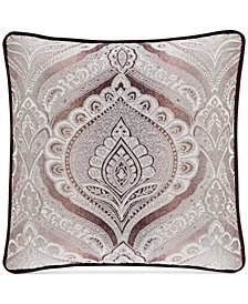 "J Queen New York Gianna Quartz 20"" x 20"" Square Decorative Pillow"
