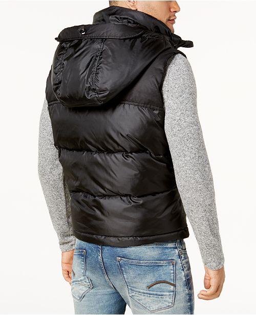 e18cc51bdb2be G-Star Raw Men's Whistler Hooded Vest & Reviews - Coats & Jackets ...