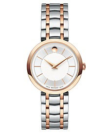 Women's 1881 Quartz Two-Tone PVD Stainless Steel Bracelet Watch 28mm