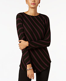 I.N.C. Striped Tunic, Created for Macy's