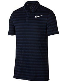 Nike Men's Dry Striped Golf Polo