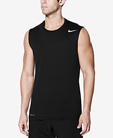 Nike Men's Sleeveless Rash Guard Tank Top