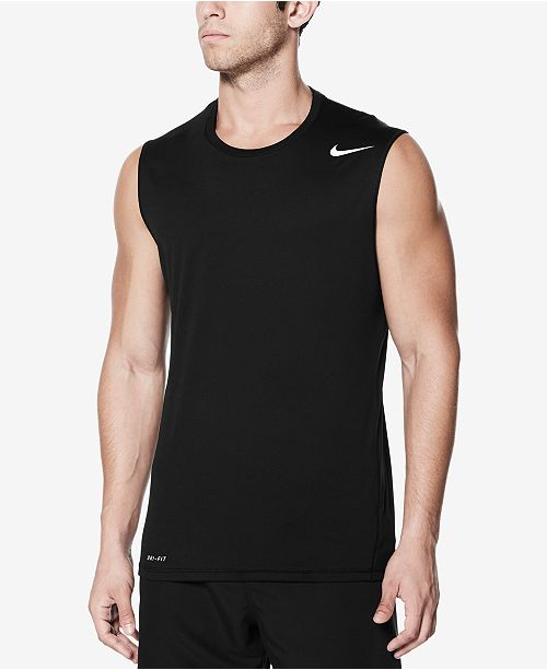 486cde58f763d Nike Men s Sleeveless Rash Guard Tank Top  Nike Men s Sleeveless Rash Guard  Tank ...