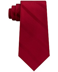 Tommy Hilfiger Men's Textured Stripe Silk Tie