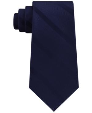 Tommy Hilfiger Men's Textured Stripe Silk Tie