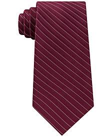 Michael Kors Men's Stripe Silk Tie
