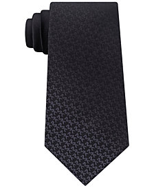 Michael Kors Men's Ombré Logo Silk Tie