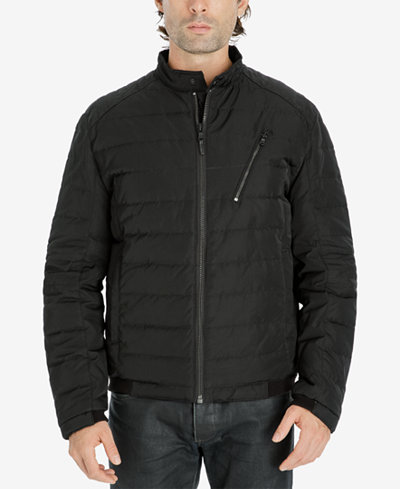 Michael Kors Mens Quilted Bomber Jacket Coats Jackets Men