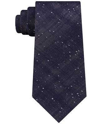 Calvin Klein Men's Galaxy Allover Silk Tie