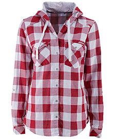 Columbia Women's Alabama Crimson Tide Times Two Hooded Long Sleeve Shirt