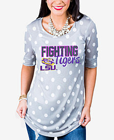 Gameday Couture Women's LSU Tigers Polka Dot T-Shirt