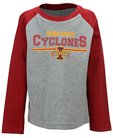 Outerstuff Iowa State Cyclones Field Line Long Sleeve T-Shirt, Little Boys (4-7)