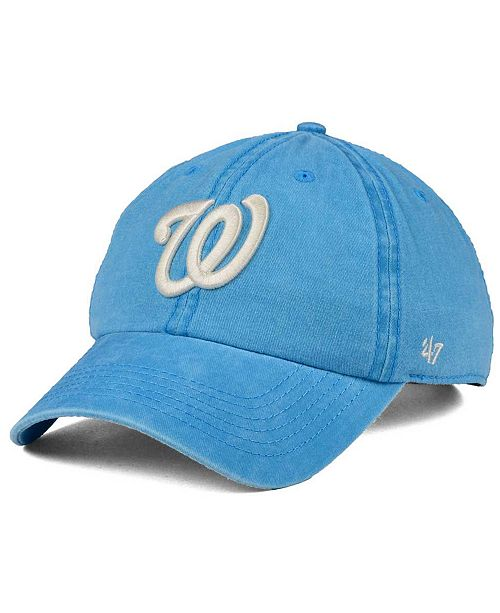 '47 Brand Washington Nationals Summerland CLEAN UP Cap