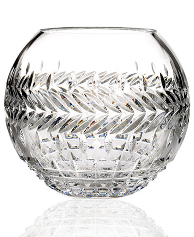 Waterford Gifts, Fleurology Meg Rose Bowl Vase 8