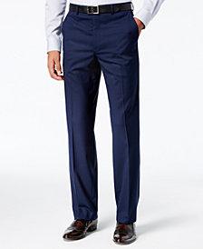 Sean John Men's Classic-Fit Stretch High Blue Glen Plaid Suit Pants