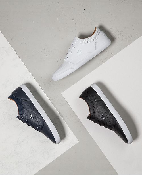 8e21926f71 Lacoste Bayliss Leather Sneakers; Lacoste Bayliss Leather Sneakers ...
