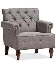 Pitnee Upholstered Armchair, Quick Ship