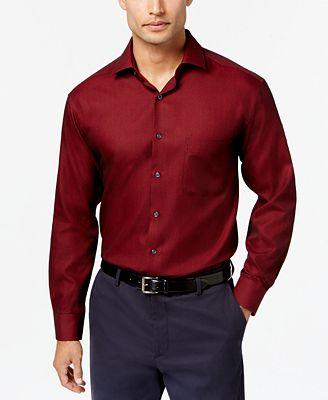 Alfani Men's Slim-Fit Performance Stretch Dress Shirt, Created for ...