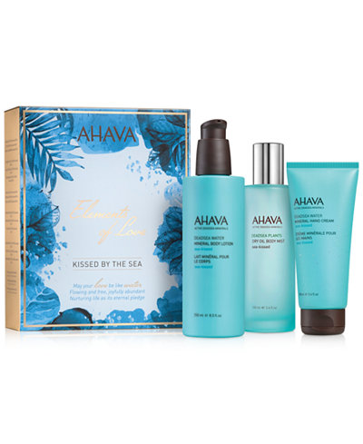 Ahava 3-Pc. Elements Of Love Kissed By The Sea Gift Set