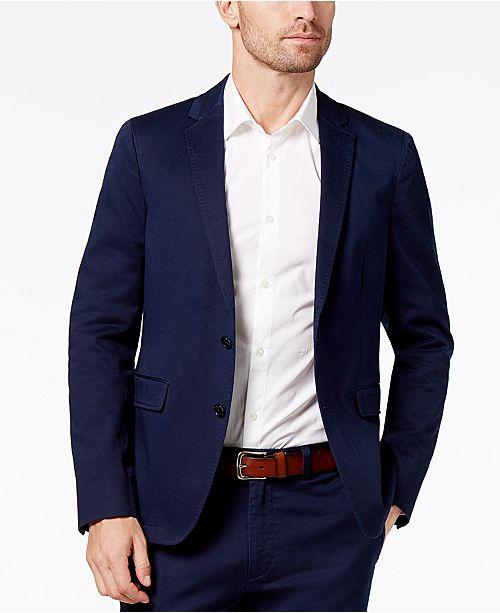 ... Daniel Hechter Paris Men s Essential Classic-Fit Stretch Suit Jacket ... 23d0f50033a