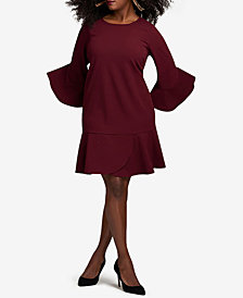 ECI Plus Size Ruffled Dress