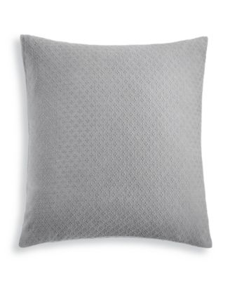 Diamond Dot Cotton 300-Thread Count European Sham, Created for Macy's