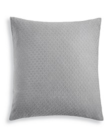 CLOSEOUT! Diamond Dot Cotton 300-Thread Count European Sham, Created for Macy's