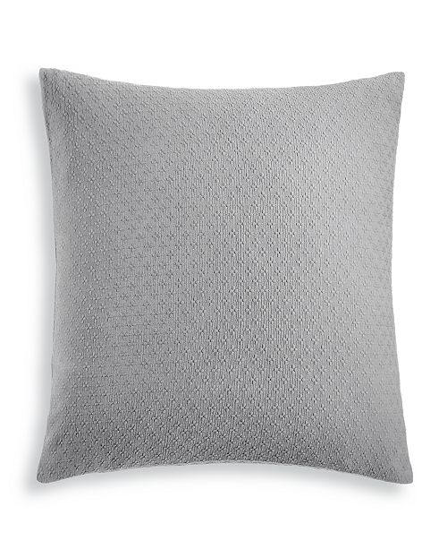 Charter Club Diamond Dot Cotton 300-Thread Count European Sham, Created for Macy's