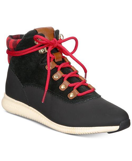 c7a8c3d9a9a5f Cole Haan Women's ZeroGrand Hiker Booties & Reviews - Boots - Shoes ...