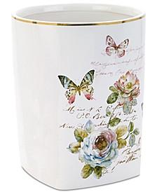 Butterfly Garden Wastebasket