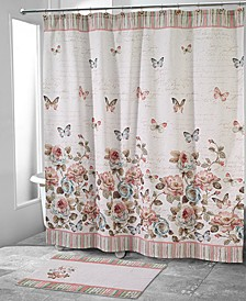 Butterfly Garden Shower Curtain Collection