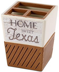 Home Sweet Texas Toothbrush Holder
