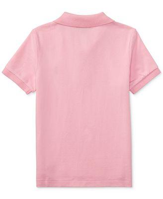 Seriøst Polo Ralph Lauren Big Boys Pique Polo - Shirts & Tees - Kids - Macy's QZ-04