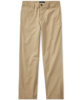Image of Ralph Lauren Suffield Flat-Front Pants, Big Boys