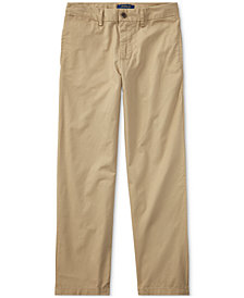 Ralph Lauren Suffield Flat-Front Pants, Big Boys