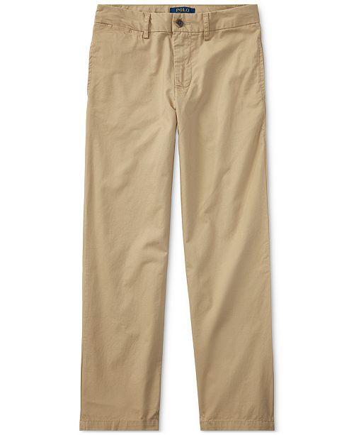 5591102394 Polo Ralph Lauren Big Boys Slim Fit Cotton Chino Pants   Reviews ...