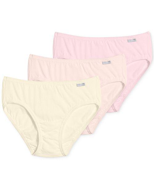 ddd6986adc50 Jockey Elance Cotton Bikini 3 Pack 1489 & Reviews - Bras, Panties ...