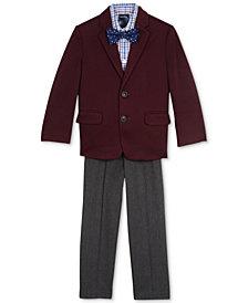 Nautica 4-Pc. Jacket, Shirt, Pants & Bowtie Set, Toddler Boys