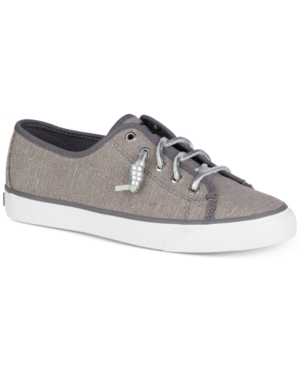 Sperry  WOMEN'S SEACOAST CANVAS SNEAKERS WOMEN'S SHOES