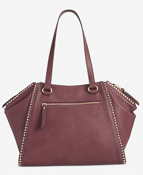 fa49551eb893 INC International Concepts I.N.C. Hazell Studded Shoulder Bag ...