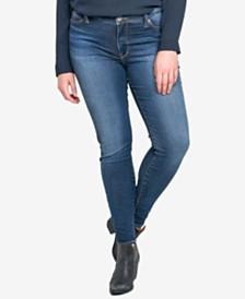 Silver Jeans Co. Trendy Plus Size Bleeker Skinny Jeans
