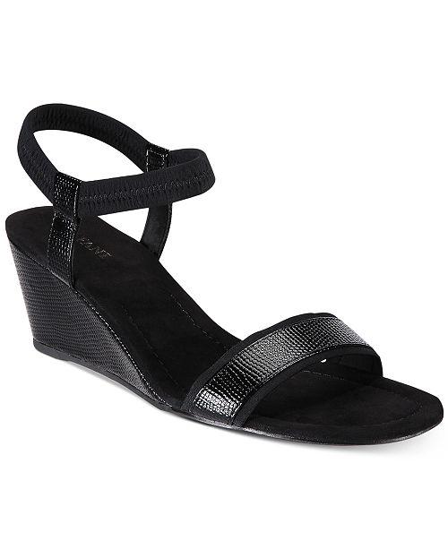 2e05e44908ee Alfani Women s Giselle Wedge Sandals