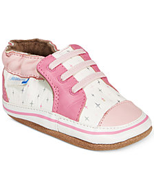 Robeez Trendy Trainer Sneakers, Baby Girls